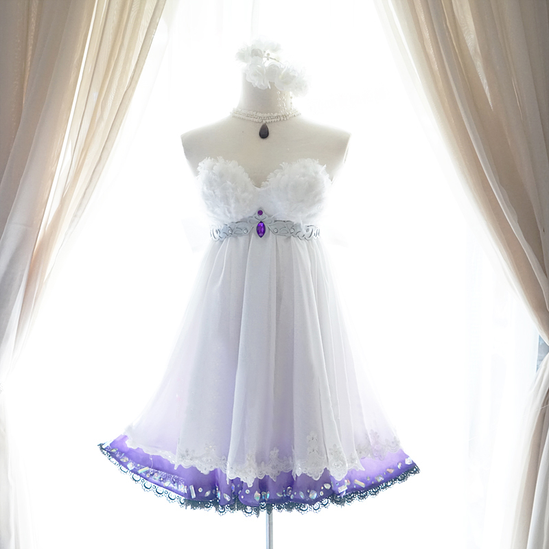 神崎蘭子 かんざきらんこ コスプレ衣装 魔界の花嫁