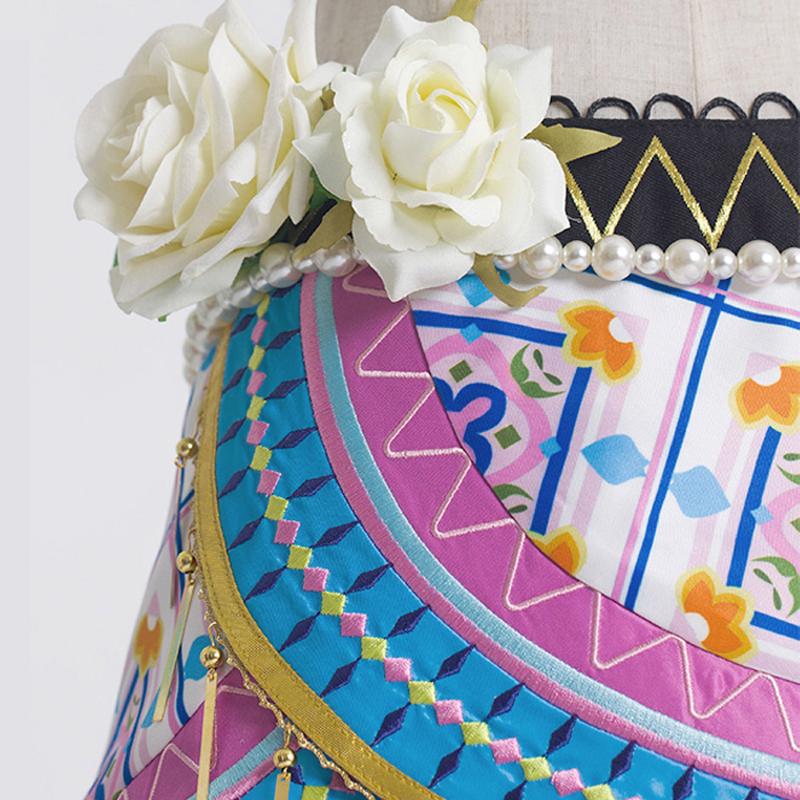 南ことりのアラビア風ドレス