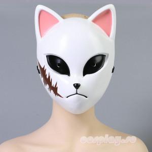 鬼滅の刃 錆兎 炭治郎の兄弟子 狐面 マスク コスプレ道具