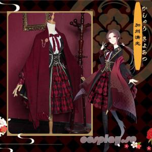 刀剣乱舞 刀剣男子 加州清光 かしゅうきよみつ 同人洋装 ロリータ風 コスプレ衣装