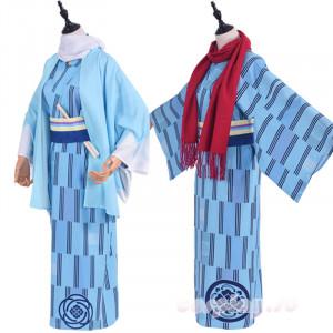 『刀剣乱舞-花丸-』×大江戸温泉物語 加州清光 大和守安定 浴衣 コスプレ衣装 夏物