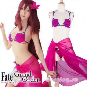 FGO Fate/Grand Order スカサハ 師匠 水着 ビキニ コスプレ衣装