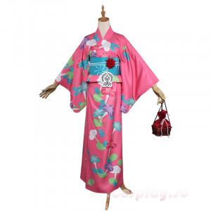 Fate/GrandOrder(FGO) ネロ 浴衣 赤セイバー