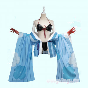 【FGO】在庫衣装 Fate/Grand Order 水着茨木童子 概念礼装 コスプレ衣装 夏物 ビキニ 絆礼装