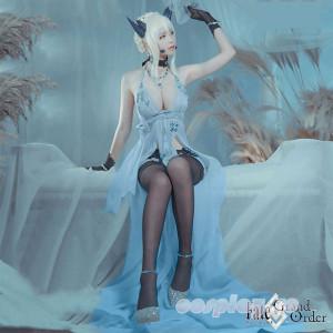 【FGO】Fate/Grand Orderロイヤル・アイシング ドスケベ礼装 ハロウィンイベント 雪の女王 コスプレ衣装