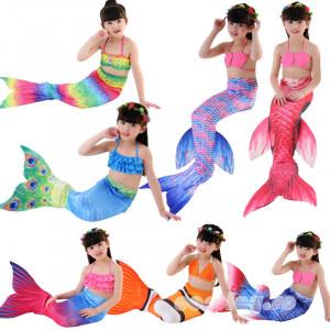 ハロウィン ビキニ 人魚姫 姫風 子供用コスプレ衣装