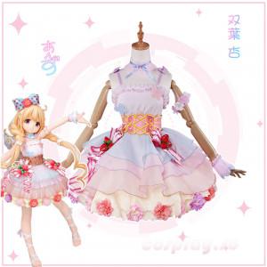 【予約商品】アイドルマスター 双葉杏 ティアードスカート  イチゴ飾り 萌え萌え スカート コスプレ衣装