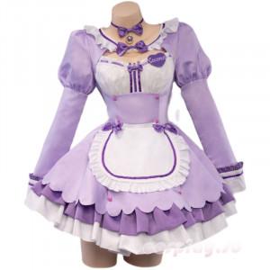 NEKOPARA ネコぱら メイド服 ココナツ 紫色