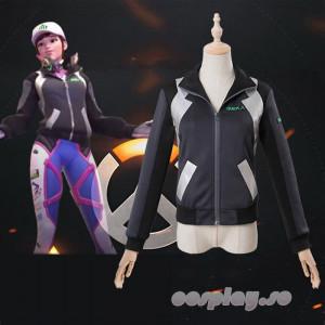 Overwatch オーバーウォッチ D.Va ディーバ 灰色コート コスプレ衣装 オーダーメイド