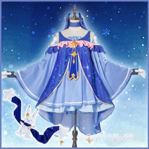 ボーカロイド VOCALOID MIKU 初音ミク 2017年雪ミクねんどろいど 雪ミク衣装 コスプレ衣装