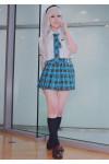 THE IDOLM@STER 「アイドルマスター」四条貴音 コスプレ制服+ウイッグ+髪飾り