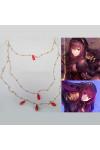Fate/Grand Order スカサハ  コスプレ道具 イアリング ピアス 金色
