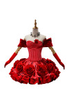 Fate/Grand Order FGO ネロ ドレス 赤い礼装 ローズ 女帝 赤セイバー saber