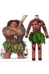 モアナと伝説の海 ディズニー マウイ ハロウィン 大人 子供用コスプレ衣装