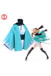 Fate/GrandOrder(FGO) 沖田総司 桜セイバー コスプレ衣装 和服