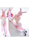 崩壊3rd 八重桜 チャイナドレス セクシー風 白色 コスプレ衣装
