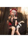 アズールレーン 吸血鬼 エロイの祝福 ウエディングドレス コスプレ衣装 レース  コスチューム