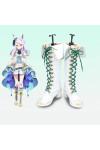ウマ娘 プリティーダービー メジロマックイーン ブーツ 靴 白色