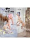 『Re:ゼロから始める異世界生活 』(リゼロ) ラム&レム 下着 白レース セクシー  コスプレ衣装
