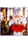 Re:ゼロから始める異世界生活   レム クリスマス ドレス 赤 コスチューム コスプレ衣装