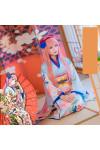 vocaloid ボーカロイド 巡音ルカ 和風柄 着物 和服 コスプレ衣装 花火大会 夏日祭 イベント着物