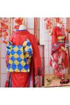 VOCALOID ボーカロイド 初音ミク MIKU 着物 鶴柄+桜柄  伝統 着物 コスプレ衣装