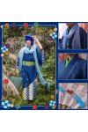 VOCALOID ボーカロイド カイト kaito コスプレ衣装 マフラー+帽子付き 着物