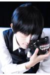 東京喰種 トーキョーグール 金木研(かねき けん) コスプレウィッグ 黒髪 ショート
