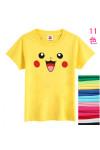 ポケットモンスター ピカチュウ大人気Tシャツ 純綿半袖Tシャツ 多色11色