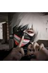 東京喰種トーキョーグール 金木研(かねき けん) ファスナーマスク コスプレ道具