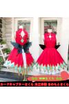 カードキャプターさくら 木之本桜 きのもとさくら 桜(さくら) 胡蝶さくら ドレス コスプレ衣装 コスチューム 変装