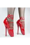 コスプレブーツ ZONE-00(ゾーン ゼロゼロ) 紅緒·吉祥(べにお·きっしょう) バレエハイヒール 18cmヒール コスプレ靴