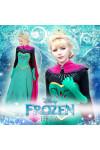 ディズニー プリンセス FROZEN アナと雪の女王 ドレス  白雪姫 ELSA アナの姉 エルサコスプレ衣装 豪華ドレス