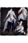 SINoALICE シノアリス スノホワイト 真っ白+赤 コスプレ衣装
