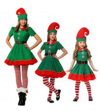 コスプレ精霊 ハロウィン クリスマス 舞台服 女性 ガール 仮装 コスチューム