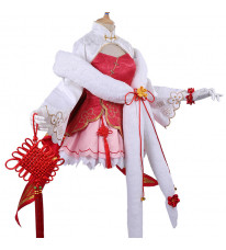 【予約商品】デート・ア・ライブ 五河琴里 チャイナドレス ピンク 可愛い コスプレ 衣装 コスチューム