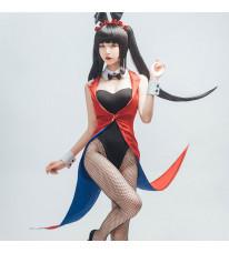 「デート・ア・ライブ」 DATE A LIVE  時崎狂三 バニーガール レディース セクシー コスプレ衣装