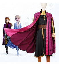 Disney ディズニー コスプレ衣装 アナと雪の女王2 Frozen 2 アナ ディプピンク