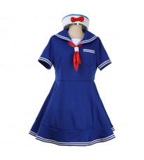 上海ディズニー Disney シェリーメイ ShellieMay  ブルー ミニドレス おしゃれ コスプレ衣装