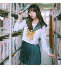 鶴丸国永 刀剣乱舞 セーラー服 JK制服風 コスプレ衣装高校生 コスチューム