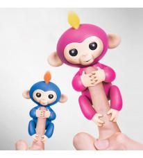 小っちゃな手のりモンキー ハグミン 日本おもちゃ大賞2017  6色選択可能 子供好き おもちゃ