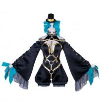 FGO Fate/EXTRA CCC 玉藻の前 漆黒の魔術服 コスプレ衣装+帽全セット
