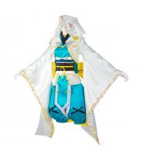 【FGO】Fate/Grand Order 清姫 ねんどこねこねこ 「忠犬待ったなし」概念礼装 2019 冬 コスプレ衣装 和服 着物