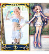 『Fate/EXTELLA LINK』水着衣装第二弾「リゾートセット」 アストルフォ『キラキラ・フリフリ』 コスチューム コスプレ衣装