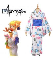 【FGO】Fate/Grand Order アルトリア・ペンドラゴン セイバー コスプレ衣装 着物 浴衣 花火大会 新年