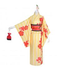 FGO マシュ・キリエライト 夏祭り 着物 コスプレ衣装