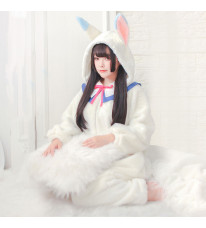Fate/Grand Order マシュ フォウ キャスパリーグ コスプレ衣装 シャムパジャマ