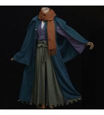 Fate Grand Order 冈田以藏 コスプレ衣装 道具 ウィッグ