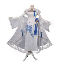 フェイト/グランドオーダー   Fate/Grand Order  アルトリア 白 チャイナドレス コスプレ衣装 優雅