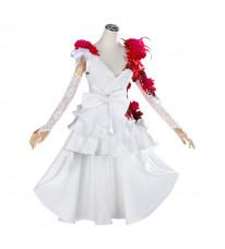 Identity Ⅴ 調香師 スカーレットの新婦 コスプレ衣装 ウェディングドレス 花嫁